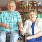 Heustesses celebrate 65 years of marriage