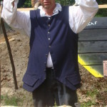 Harmony Hall hosts tar-making demonstration