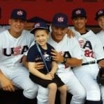 The game that heals: Visit with Team USA comforts young baseball fan