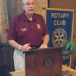 District governor visits with Elizabethtown Rotary