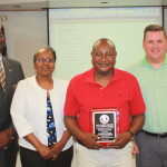 BOE honors Holder for service