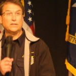 McCrory, Troxler visit with area farmers at Lu Mil