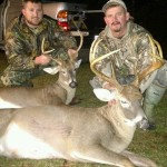 Father-son team bring down two bucks, coyote