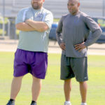 Football camp at West Bladen filled with fun