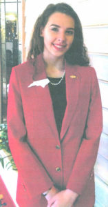 West Bladen student attends FCCLA National Leadership Conference in San Diego