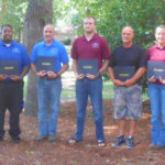 Bladen Community College students received SECU scholarship