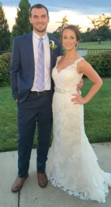 Huggins, Ritchie wed in May