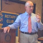 Rotary Club gets a lesson on law enforcement training
