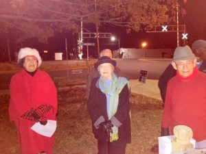Clarkton Beautification Committee sponsors first Christmas tree lighting and Carol-a-Round in Butler Memorial Park