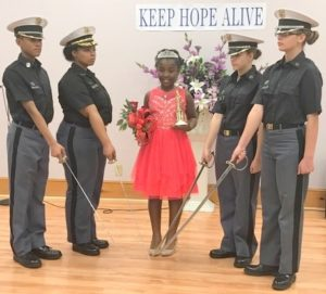 Jones crowned Little Miss Bladen County Youth Focus Project
