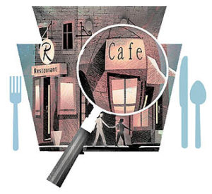 Food establishments are inspected by county