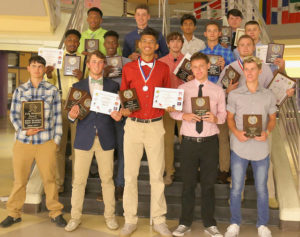 Knights honor their athletes